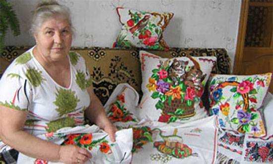 Рукоделие от бабушки