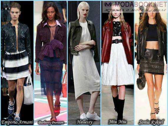 Модні жіночі куртки весна 2015 року 2428407234bf1