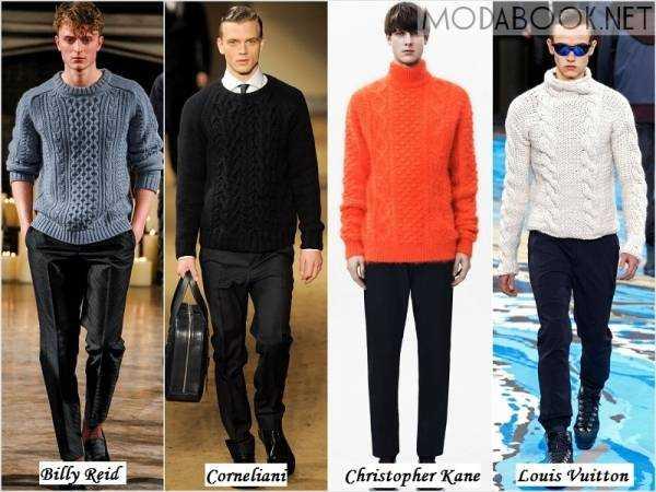 Модные Мужские Пуловеры 2015