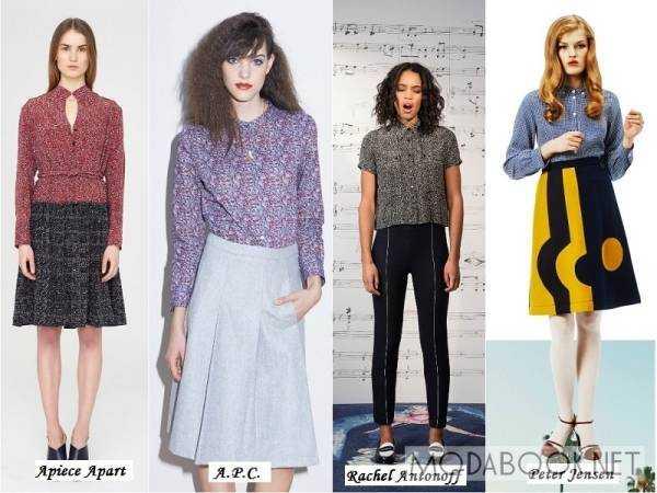 Модные Блузки Осень 2015 Доставка