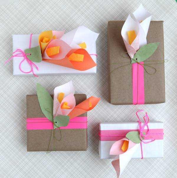 Подарок на своими руками из бумаги 87