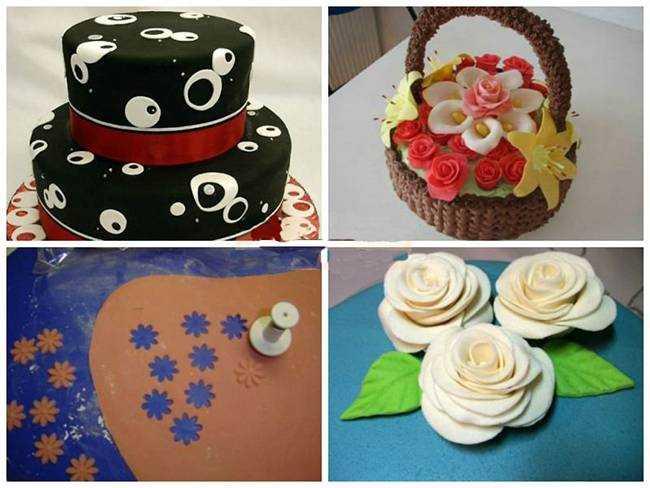 Как украсить торт с мастикой пошаговое 32