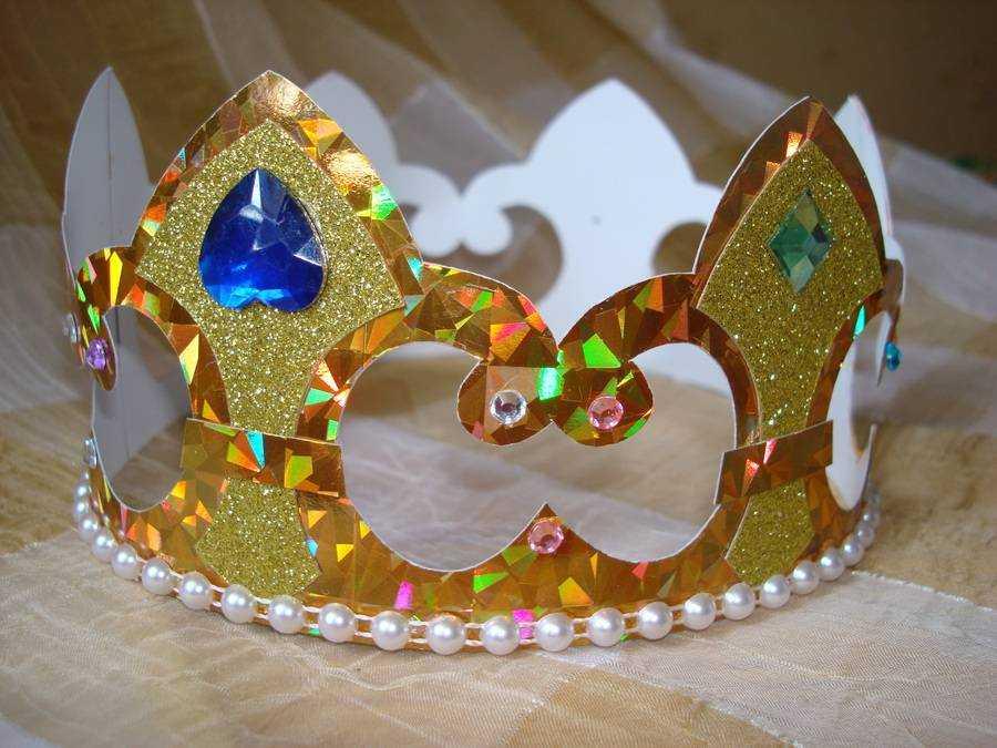 Как можно сделать корону своими руками
