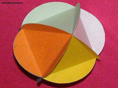 Как сделать волшебную поделку из бумаги