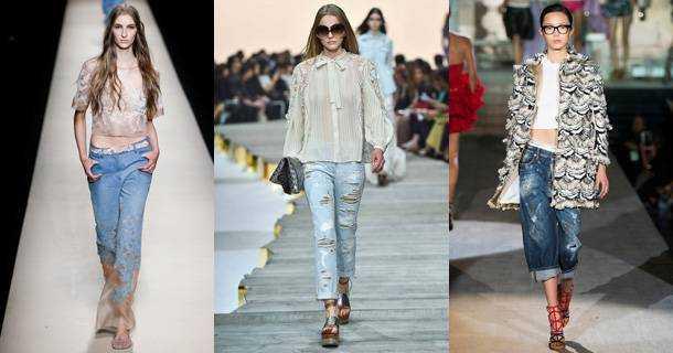 Модные Джинсы 2015 Года