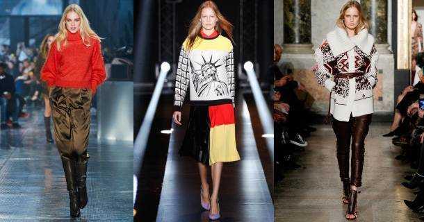 Модные Женские Свитера Зима 2015