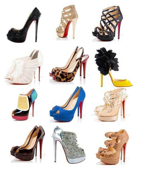 лабутени туфлі фото
