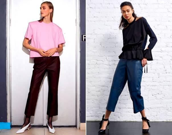 Модні жіночі брюки 2018  тенденції 57fb340b41e6e