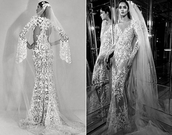 Весільні сукні 2018: фото