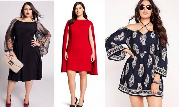 b948ecc839b866 Модні сукні 2018 для повних: фото, красиві нарядні моделі, фасони великих  розмірів
