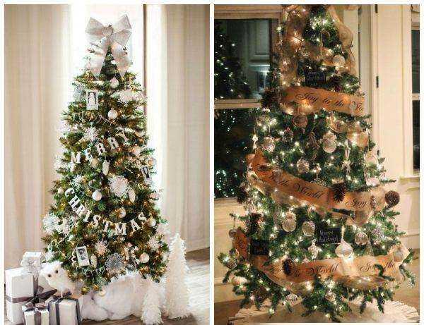 Как украсить елку на новый год 2018 - свежие варианты