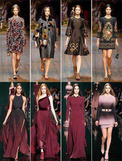 Мода 2015. Модні і стильні сукні осінь-зима 2014 2015 c24e154d1b7a9